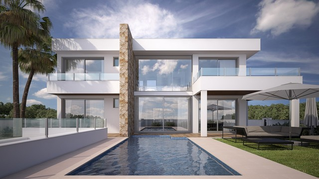 New Build 3 Bed Villa La Cala