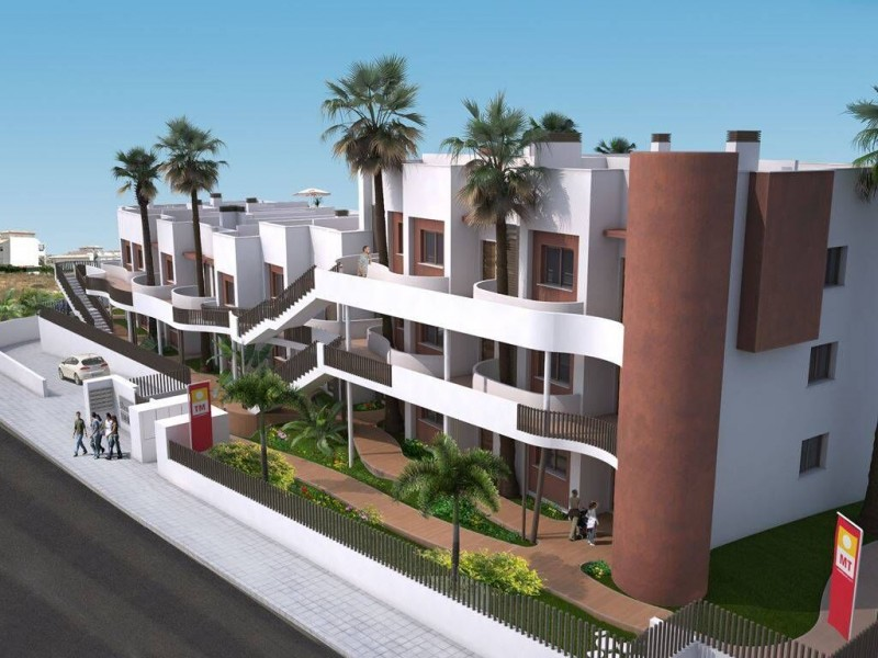 3 Bed 2 Bath New Build Apartments in Orihuela Prices Start From €138.000