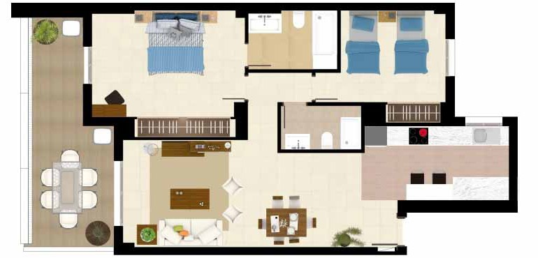 Floor Plan_2_Acqua_2D