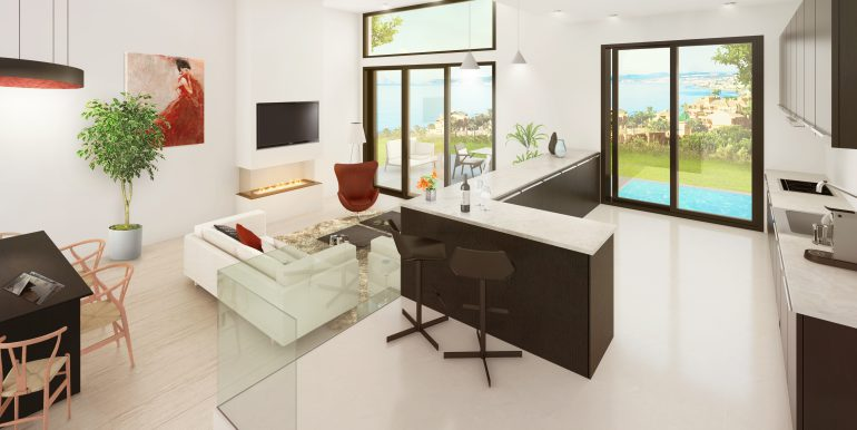 Type 1 - Kitchen & Living Room (1)