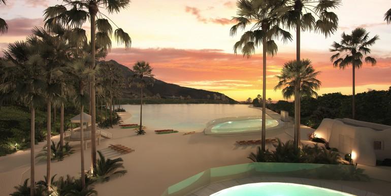lagoon_piscinas_sunset