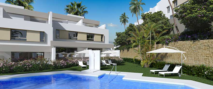 Luxury New Development – 3 Bedroom Townhouses La Cala Golf and Sea Views
