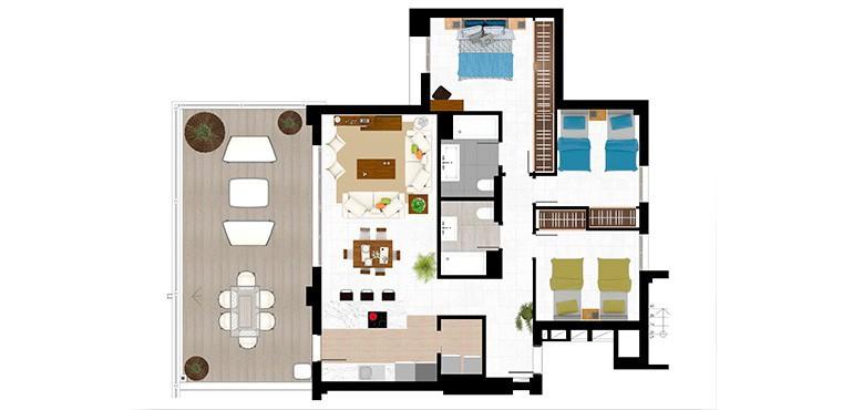 Plan 6 - 3 Bed