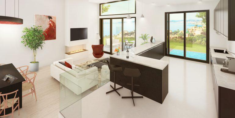 Type 1 - Kitchen & Living Room (1)