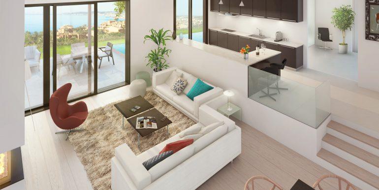 Type 1 -  Living Room & Kitchen (1)